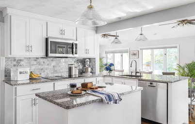 Kitchen of the Week: Refaced Cabinets Brighten on a Budget