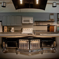 eclectic kitchen by Lucid Interior Design Inc.