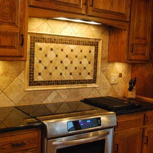 Travertine Tile Backsplash Houzz