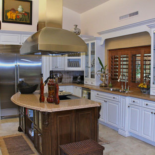 pebble kitchen backsplash plantation shutters houzz 1438