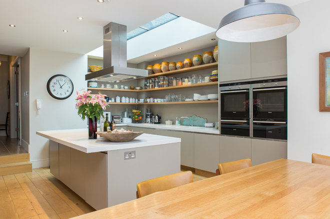 Contemporary Kitchen by Martyn Clarke Architecture