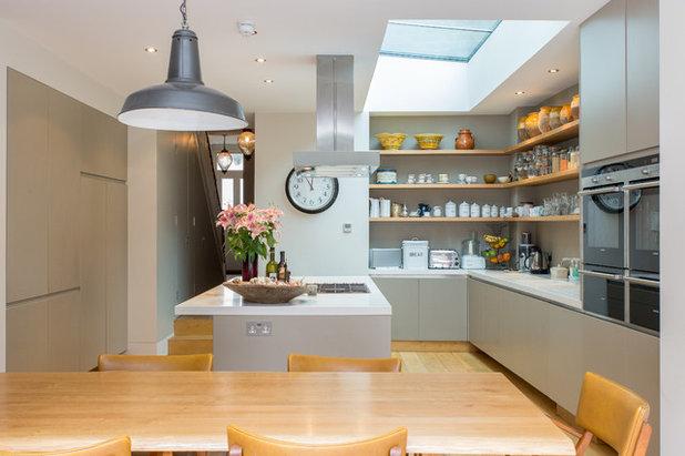 Houzz tips: 10 idéer til åben opbevaring i køkkenet
