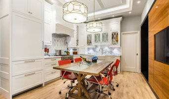 Trendy White Kitchen