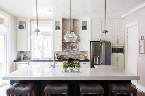Transitional Kitchen by Garbett Homes