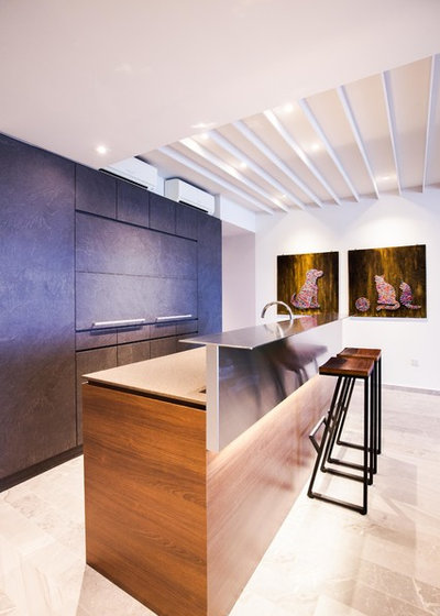Contemporary Kitchen by SS + D