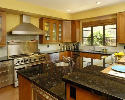 Emerald Pearl Granite Home Design Ideas Pictures Remodel