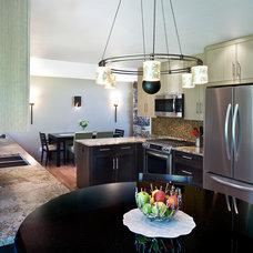 Contemporary Kitchen by Robert J Erdmann Design, LLC