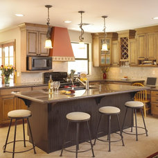 Eclectic Kitchen by Homework Remodels ~ Tri-Lite Builders