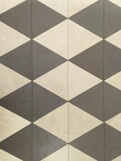 Triangle Cork Flooring Tiles