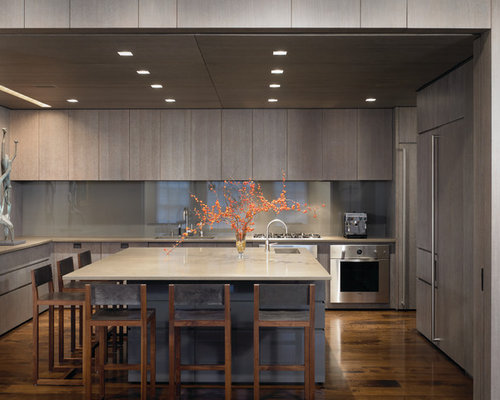 Gray Wood Cabinets Houzz