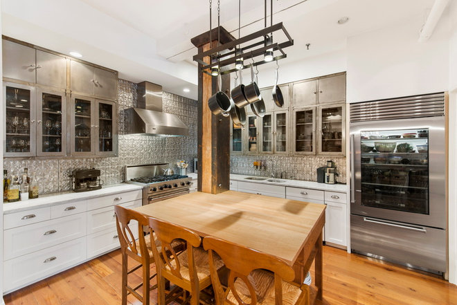 Transitional Kitchen by Good Property Company