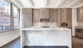 TriBeCa loft  millwork by James of Beckman Studio Design Build NYC