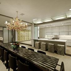 Contemporary Kitchen by Mojo Stumer Associates, pc.