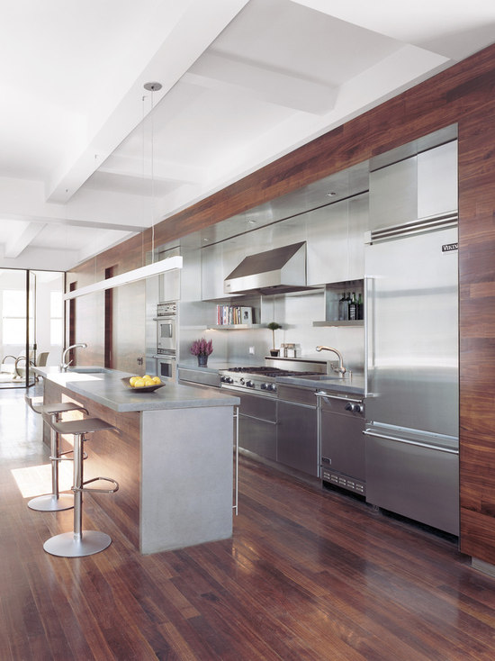 Small One Sided Galley Kitchen one sided kitchen | houzz
