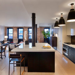 contemporary kitchen by Dirk Denison Architects
