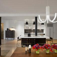 Contemporary Kitchen by Dirk Denison Architects