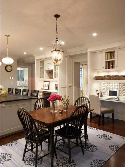 Inspiration For A Timeless Eat In Kitchen Remodel Toronto