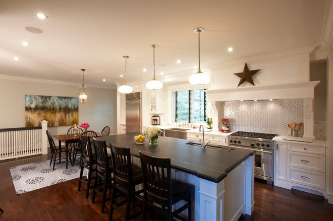Contemporary Kitchen by Meredith Heron Design