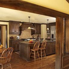 Traditional Kitchen by Kasper Custom Remodeling, LLC