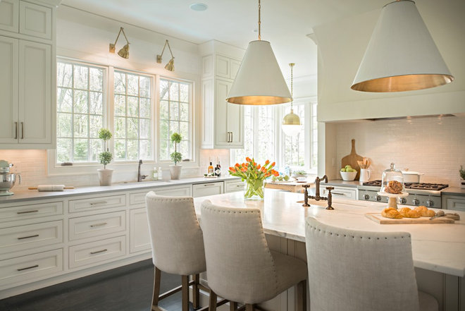 Traditional Kitchen by Allard Ward Architects