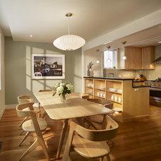 Contemporary Kitchen by Rasmussen / Su Architects