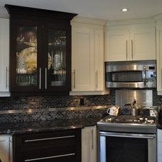 Contemporary Kitchen by Isabel Beattie @ K Cabinets Oakville