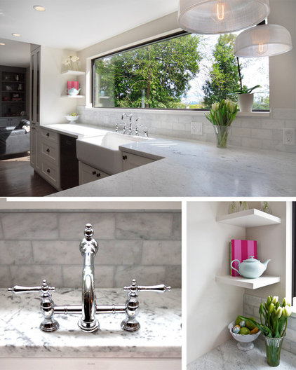 Contemporary Kitchen by Trish Knight Design