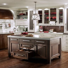 Modern Kitchen by Trish Namm, Allied ASID - Kent Kitchen Works