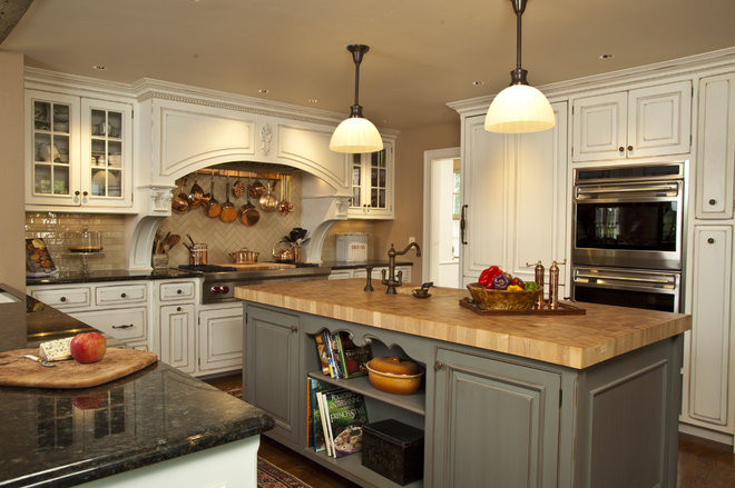 Rustic Kitchen by Trish Namm, Allied ASID - Kent Kitchen Works