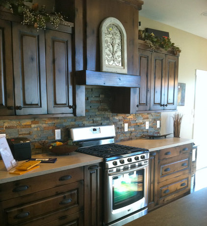 Traditional Kitchen by Designer for Triton Homes, Owner Triton Interiors