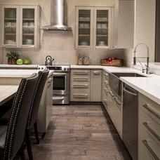 Contemporary Kitchen by Friedman & Shields