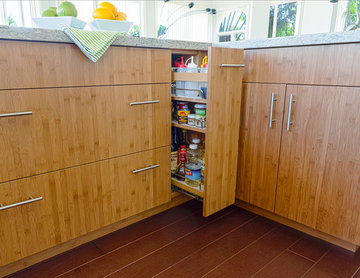 Tropical Bamboo Kitchen