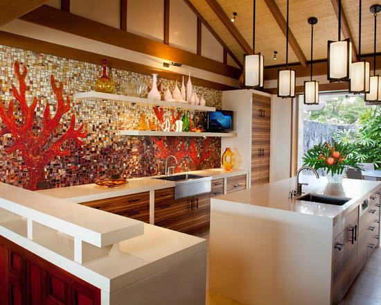 Tropical Kitchen Design - Kitchen Design Ideas ...