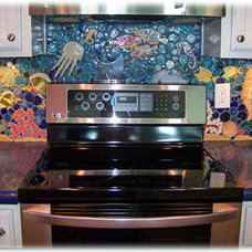 Tropical Kitchen by Tiles with Style