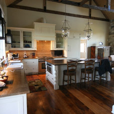 Traditional Kitchen by Mitchells Woodworking & Design LLC