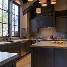 Rustic Kitchen by Jim Misner Light Designs