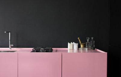 Фотоохота: Цвет столешниц для кухни — 21 решение