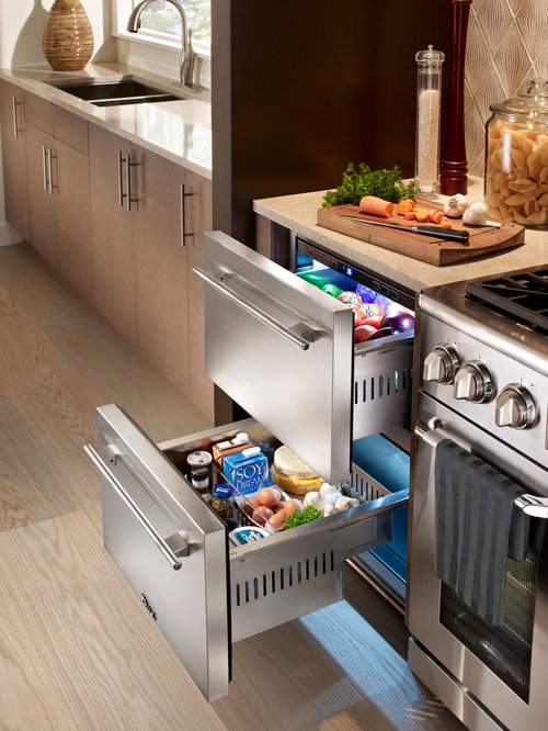 Undercounter Fridge Drawers Home Design Ideas Pictures Remodel And Decor