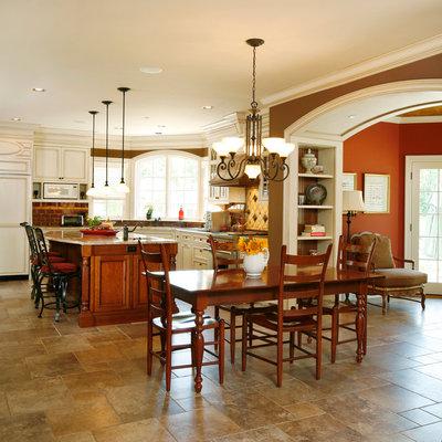 Farmhouse Kitchen by Trueblood Design-Build