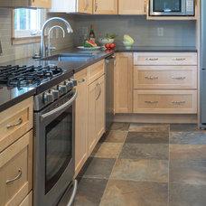 Contemporary Kitchen by Patricia L. Caulfield, LLC