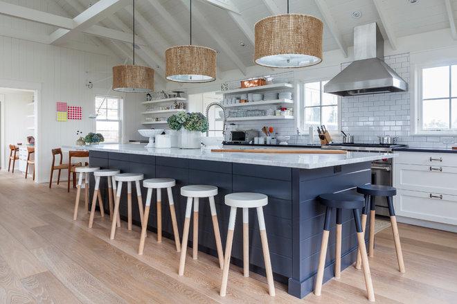 Beach Style Kitchen by Siberian Floors
