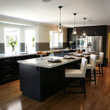 Contemporary Kitchen by Treoma Design