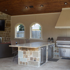 Transitional Kitchen by The GoodLife Outdoor Living