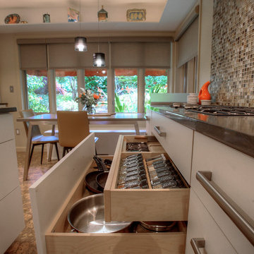 Tudor kitchen gets a contemporary update