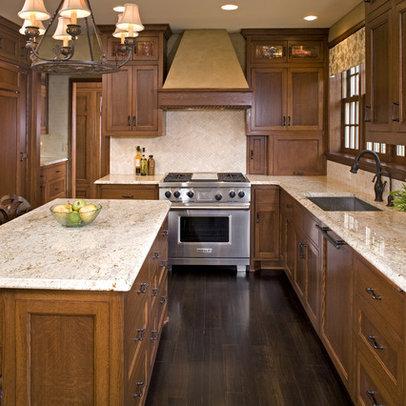 Kitchen Flooring Ideas on Kitchen Pantry Cabinets On Dark Walnut Floors Design Ideas Pictures