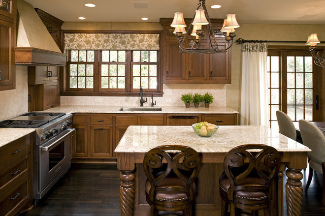 Traditional Kitchen by Amber Ranzau - haut haus, inc.