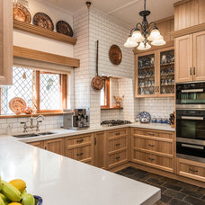 Traditional Kitchen by Space Craft Joinery