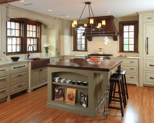 Tudor Style Kitchen | Houzz