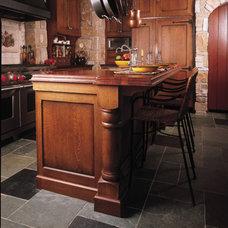 Mediterranean Kitchen by Sawhill Kitchens