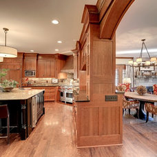 Craftsman Kitchen by Jill Morgan Home Styling and Events
